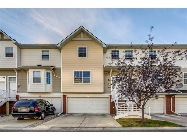 Beautiful Mosiac townhouse in sought after Mckenzie Towne, just minutes from both 130th and High Street. The main level features an open concept with a large living room, dining area, new laminate floors, half bath and inviting chef?s kitchen this floor is perfect for entertaining. The upper level has 3 large bedrooms including a master bedroom with walk-in closet a full bathroom and a desk nook. The lower level features built in shelving and the entrance to the backyard that is fully fenced, landscaped and also has a concrete patio. The basement level has the mechanical, storage & laundry room(washer/dryer included) and the entrance into the O/S fully finished double car garage. All this in a great location, walking distance to all that Mckenzie Towne has to offer including schools only 1 block away. You have the whole package here, including Low condo fees! Come see it today!