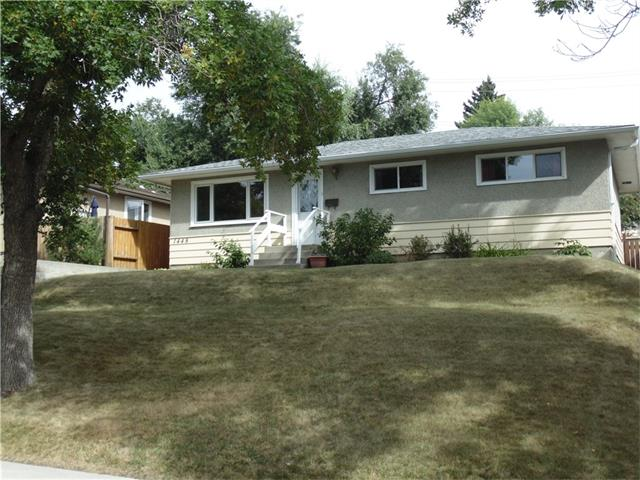 Outstanding revenue property in the inner city community of Mayland Heights.  This home has been meticulously maintained and sits at the end of a very quiet street.  Recently upgraded main floor windows, roof, eves troughs, and bathrooms.  The lower level 2 bedroom illegal suite is currently rented and can be a great  mortgage helper.  The double detached garage is also rented so you have 2 revenue sources as soon as you move in.  The main floor features hardwood floors in the L-shaped living and dining rooms as well as the 3 bedrooms.  The large windows let in plenty of light and the kitchen overlooks the huge backyard.  The lower level has a very functional suite with 2 bedrooms, an updated bathroom and a great kitchen/living area.  Also down is the shared laundry.  Beside the garage off the back lane there is a double parking pad for your RV or spare vehicles.  This one is ready for you to move in or can make a great revenue property.  Call your favorite Realtor to view it today.