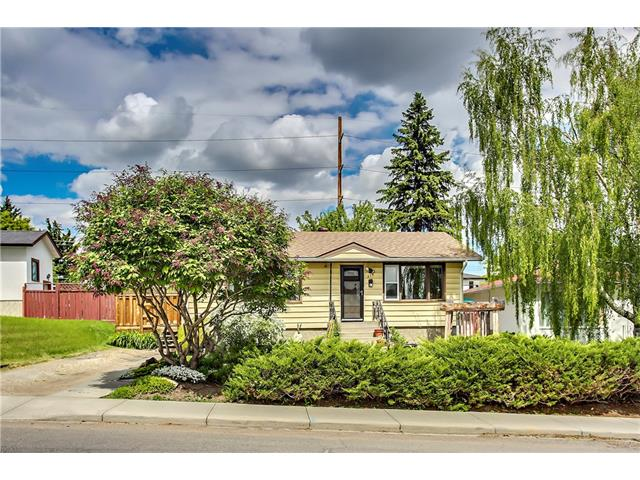 OPEN HOUSE Sunday Sept. 17th 11am-2pm. Inner city gem in Highland Park on a large lot. Perfect for investors or professionals with direct access to downtown, via Centre St. and Edmonton Trail. Renovate the existing house and enjoy the large, beautifully landscaped lot OR use it as a holding property and build infills in the future. Currently there's an open concept main floor with a huge dinning room that can easily be converted back to 2 bedrooms. Updated 4 piece bathroom, large kitchen and living room are on the main floor. Basement is partially developed with cork flooring, plumbing rough-in and a utility/storage room. Shingles were recently replaced. Also great for permaculture enthusiast with organically composted 15 year old garden, irrigation system, fire pit and 2 outdoor sheds. 50 ft lot frontage. R-C2 zoning.