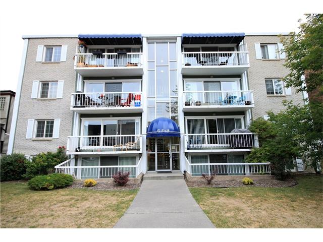 """Absolutely a """"COMPLETE"""" gorgeous renovation with a very stylish decor, great use of space; but best of all is the location. Steps away from the Bow River Pathways, walking distance to 4th Street with all it's fabulous pubs and restaurants and walking distance to downtown. What more can you ask for!!! At a very affordable price combined with low condo fees why pay the high rents. Features include wide plank hardwood flooring, stainless steel appliances, granite counter tops throughout, and in-suite laundry. Unit is below grade but with the extra large windows allow ample natural light throughout the unit. Some of the furnishing is available for purchase. NO DISAPPOINTMENTS HERE SHOWS 10/10!!! Be the first view this gorgeous unit call for your own private viewing."""