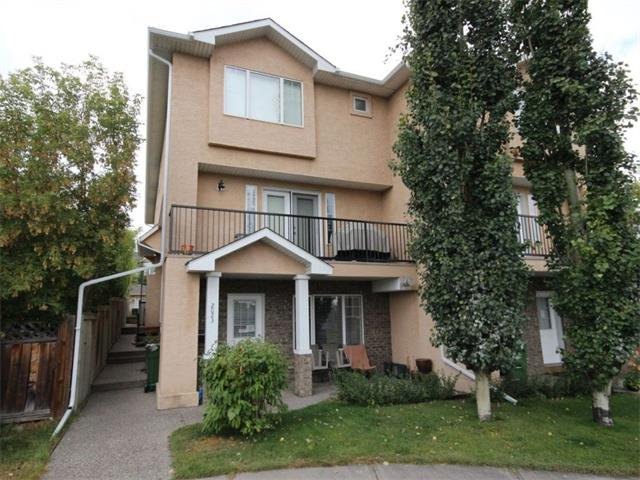 Incredible BRIGHT and SUNNY townhouse with over 1500 sq ft of developed space! Centrally located, this property is only 5 minutes to MRU, 10 minutes to U of C and downtown, and has easy access to multiple bus/C-Train routes. This is the ideal place for anyone looking for space to grow into. The main floor is designed for entertaining, with a open concept chef's kitchen and living room. The upper level features 3 bedrooms and 2 full bathrooms, including a large master + ensuite. The fully developed basement family room would be perfect to host movie nights with family and friends. Don't forget the entire level dedicated to your storage needs just off the basement! Out back, you have a west facing BBQ area and a detached garage. This townhouse is in a friendly, self managed complex with low condo fees, healthy reserve fund and numerous upgrades including new roof. *New carpet for buyer*