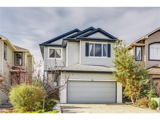 MOUNTAIN VIEWS, GREEN SPACE & AN AWARD-WINNING NEIGHBOURHOOD! This extremely well cared for 2038 sq. ft. 2-storey is located on a quiet street in family friendly Tuscany. With an open concept design & fantastic west backing lot, this property is filled with natural light & stunning views of the Rocky Mountains.  
