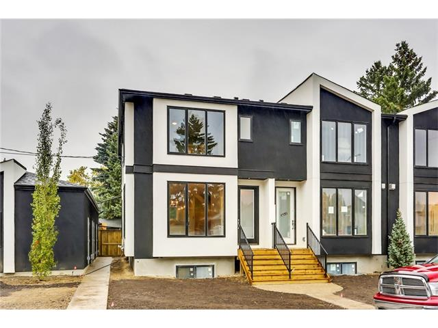 2016 SAM AWARD 2 TIME WINNER - 2016 SAM AWARDS 4 TIME FINALIST -2014 SAM AWARD WINNER BEST TOWNHOMES $360,000+. 2014 SAM AWARDS 3 TIME FINALIST. 2015 SAM AWARD FINALIST BEST TOWNHOMES $360,000+ Brand New 1306 sq ft builders plansCustom Town Home. This 3 bedrooms ,3 ensuites, walk in closets, 3.5 bathroom home has it all.The best part is its all your choice and you can be creative. The BUYER to choose ALL the finishings,9ft main floor w/custom full height cabinets,soft close,crown  moulding,accented by stainless steel appliances.Gleaming granite or quartz,stoned fireplaces,hardwood floors. YOU choose;glass rail,stainless or woodstained spindles.YOU choose;door style,door headers,4 inch casings,6 inch base.YOU choose;tile for your bathrooms,entrances,linear fireplace,and backsplash. Includes private, exclusive, fenced yard. Single private titled garage. 9Ft basement with 8 ft windows. Price includes $20,000 in Millenium selections. OTHER UNITS AVAILABLE. COME VISIT SHOWHOME TO SEE AWARD WINNING QUALITY.