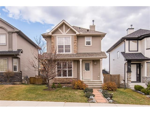 What a sweet way to enter the Okotoks market & be in a lake community. If you have not viewed this layout it is worth a visit. This home has a unique layout with an open to below basement family room & soaring windows. The home does not have any direct back neighbours so the morning sunshine comes pouring in. There is a nicely landscaped yard with off street parking for two. As you enter you will notice the living area with hardwood flooring. The kitchen has re-surfaced counters & views of your pretty backyard. Upstairs in the master you will find a bedroom that will handle your king size bed, a walk-in closet & a 4 piece ensuite. Both upstairs bathrooms also have resurfaced counter tops. Two more bedrooms complete this level. The basement has a generous family room with gas fireplace & cork flooring. This is a great place for move nights or just hanging out with friends. This home has updated light fixtures, brand new shingles, a large backyard with storage shed & large deck & tons of storage.