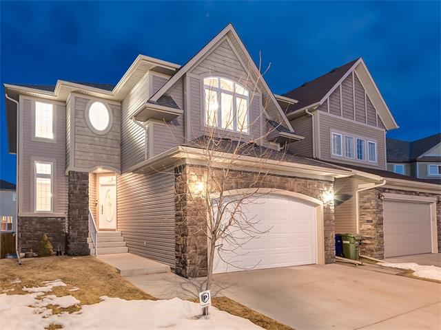 IMMEDIATE POSSESSION. Over 3690 Sq.Ft. of UPGRADED, A/C'd living space in this EXECUTIVE 2 storey home only 2 doors from the CANAL! This STUNNING home is PRIVATE & features MAPLE HARDWOOD & TILE floors, 2 A/C units, OVERSIZED garage & FULLY FINISHED WALKOUT basement. The main floor has a front Living rm w/2 story ceilings, Large office, formal dining rm, laundry room & SPACIOUS kitchen w/GRANITE counters, Large island w/breakfast bar, Stainless Steel appl package, TILE backspash, pendant lighting, corner pantry &dining nook w/leads to a HUGE upper deck w/PRIVACY glass & views of the canal! The HARDWOOD is carried through the OPEN CONCEPT living rm w/gas Fireplace. Walk up the Spiral stairs to the MASSIVE master retreat w/3 sided F.P, His + Her sinks w/GRANITE counters & large W.I. closet. 2 large bedrooms, 4pc bath & SPACIOUS bonus rm complete the upper level. The WALKOUT basement is fully finished w/PERMITS & offers a huge bedroom, perfect for a teenager or could make a great illegal M.I.L./ nanny suite!