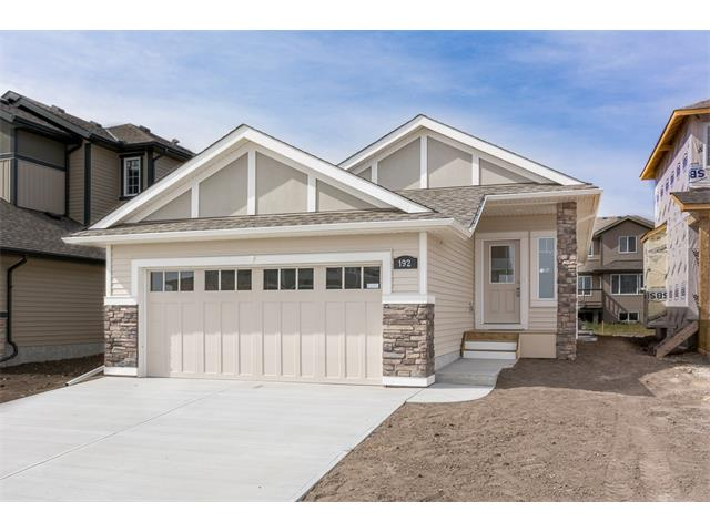 """Price reduced! Don't like stairs?  See this new Loreck Homes Ltd. bungalow in Strathmore!  1135 sq.ft. of well-designed living space, all on one level, on a 38' rectangular lot.  Appreciate the 20'6"""" x 26' double attached garage, the vaulted ceilings with knock-down finish, the quartz counter tops in the kitchen, the upgraded flooring and the 135 sq.ft. rear deck.  Basement windows meet legal egress requirements for safe future basement development.  Loreck provides a passive Radon gas collection system in all its new homes, and offers free, after-possession radon gas testing.  This home is ready for immediate possession.  Call for your appointment to view today!"""