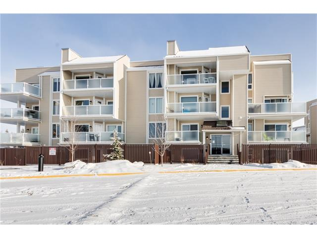 """Sunny West Facing 1 Bedroom Apartment in the sought after Landmark Estates within Walking Distance to Market Mall & University of Calgary.  This Wonderful Complex features Newer Windows, Siding, Balcony & Beautiful Landscaping.  This Spacious Unit offers Renovated Bathroom, Lennox 36"""" Electric Fireplace, Stainless Steel Appliances & Mirror Siding Closet Doors, Bright Living Rm w/ Fireplace, Large Dining Area, Kitchen w/ Sunshine Ceiling, S/S Appliances Package & Tons of Counter & Cabinet Space, Huge Master w/ Mirror Closet Doors, Updated 4 pc Bathroom w/ Quartz Counters, Soaker Tub, Kohler Toilet, Wall Tiles & Light Fixtures, Large Covered Balcony w/ Aluminium Glass Railings & Vinyl Deck, Assigned Parking Stall w/ Plug-in.  Superb Location in Varsity, Walk to School, Park, Shopping, Transit & All Amenities, Easy Access to Foothills & Children's Hospitals.  Won't Last!"""