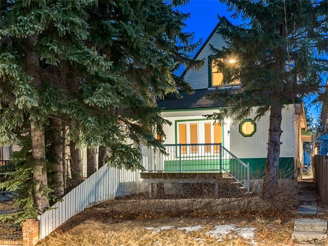 INVESTORS, DEVELOPERS, FIRST TIME BUYERS....OPPORTUNITY KNOCKS! CHRISTMAS HAS COME EARLY this Year, and this is MY GIFT to YOU! OUTSTANDING VALUE here in the PRIME LOCATION of ALTADORE, CLOSE to DOWNTOWN, 33 AVE + STEPS TO MARDA LOOP on a MATURE Tree'd LOT + way more!  This CHARMING 1 + a 1/2 STORY 1930's CHARACTER house would be PERFECT to live in NOW + INVEST for the FUTURE, a RENO project or a GREAT BUILDING SITE for your DREAM HOUSE....the possibilities are endless! W/over 1130 sq ft of developed living space, welcoming Foyer opens to a LGE Living rm, Eat in Kitchen, 2 bdrm's, + a 4 pce bath.  2nd floor has 3rd bdrm, plus loft space, another Eat in Kitchen, + 3 pce bath, + LGE Attic Storage.  205 sq. ft. FLEX room w/Basement access.  New FRONT DECK, mostly NEW Windows, + SOUTH facing back yard; PERFECT for a GARDEN! **FANTASTIC POTENTIAL** These kinds of properties are often snapped up by Developers and are extremely hard to find. ***292 SQ MT LOT***. THIS ONE REALLY WON'T LAST LONG so VIEW TODAY!!!