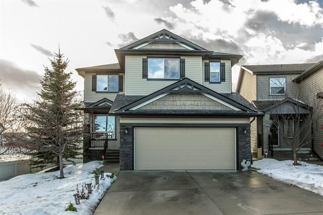 With over 3300 sq ft of developed living space, this spectacular Shane Home (the Ashton) features 4 bedrooms & 4 bathrooms, a bonus room up and a rec room down - offering tons of room for your family!  You are welcomed with a flex room - could be used as an office/den, dining, or sitting area - and into the open concept main floor boasting beautiful new hardwood flooring, a large island, walk-thru pantry, granite counters & a cozy fireplace.  Upstairs consists of a bonus room, main bathroom, and 3 over sized bedrooms; the master retreat is HUGE and includes a sitting area, a lovely 5 piece ensuite and TWO walk in closets!  The 4th bedroom is on the lower level, with another full bathroom & a rec room, R/I for a wet bar. Baseboards & door frames only have to be added to complete the finishing.  There is a 2-tiered deck off the kitchen, with a south-facing, fenced & landscaped yard. Located in the perfect spot on the corner of a cul-de-sac, near many amenities, there is a lot to offer here! Welcome Home!
