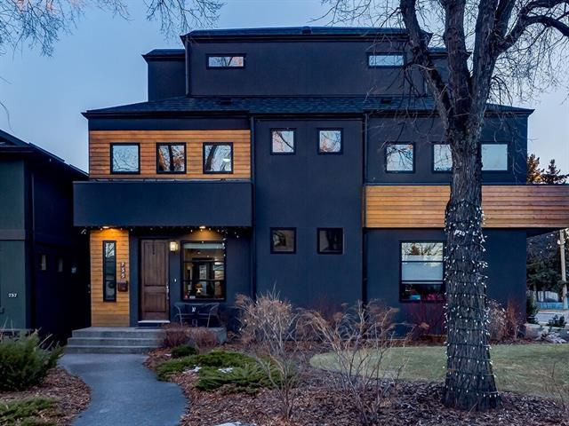 Custom Inner city home w/ Over 2972sq.ft. of developed living space. AMAZING price per Sq.Ft. in this LUXURIOUS Mount Pleasant home w/4 bedrooms up & DOWNTOWN views! Located on a quiet street, this home offers a SOUTH backyard & large DOUBLE GARAGE. STUNNING curb appeal welcomes you into this home w/ SLATE TILE entrance & UPGRADES throughout! The main offers GORGEOUS HARDWOOD, dining area w/built in bench, living rm w/floor to ceiling STONE Fireplace & Chef's kitchen w/S.S. appliances, GAS range, GRANITE island & HUGE walk in pantry. The 2nd floor has 3 large bedrooms, 4 piece bath, Laundry room &BONUS room w/SURROUND SOUND. The DREAM like master is on the top floor w/DOWNTOWN views, Walk In closet & DESIGNER 6 piece ensuite w/dual sinks, soaker tub, TILE shower & HEATED floors. The basement is PROFESSIONALLY finished w/Hobby room, bathroom & media room w/cork flooring. UPGRADES you will love including 9? ceilings, NEW carpet, FRESH paint, built ins + one of the LARGEST homes in the area for the $$$