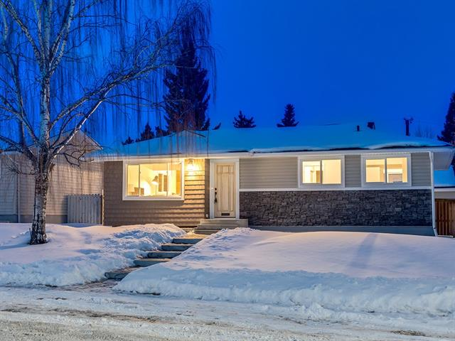 RENOVATED BEAUTY in a FANTASTIC LOCATION + close to EVERYTHING!  Great Haysboro BUNGALOW on a 510 SQ. MT w/over 1853 sq ft of developed living space!  PROFESSIONAL updates + DESIGN, you will FALL IN LOVE w/this place! W/TRIPLE HEATED GARAGE (200 AMP POWER) + RV PARKING!   BRIGHT + OPEN CONCEPT floorplan w/GORGEOUS Laminate flrs, Living rm + GREAT size Dining rm w/DESIGNER lighting, FEATURE WOOD Wall!  UPGRADES incl FRESH PAINT, NEW LIGHT FIXTURES, CUSTOM KITCHEN w/custom CABINETRY, GRANITE Counter + island w/CONTEMPORARY pendants, SUBWAY backsplash + NEW SS APPLs, ELECTRICAL 100 AMP panel, PLUMBING, FURNACE, WINDOWS, DOORS, Kitchen, FLAT Ceilings, LED Lighting! Master Suite w/STUNNING 5 pce EN-SUITE feat HIS+HER sinks + HEATED TILE FLOOR, LGE W.I.C w/BARN DOOR!  2nd Bdrm plus a 4 pce Main Bath finishes upstairs.  BSMT has a HUGE REC RM, flex area, 4 pce bath, BIG Utility/LAUNDRY rm + TWO more GOOD size BDRMs! MOVE IN READY! QUIET CRESCENT Location, Properties like this don't come up like this very OFTEN!