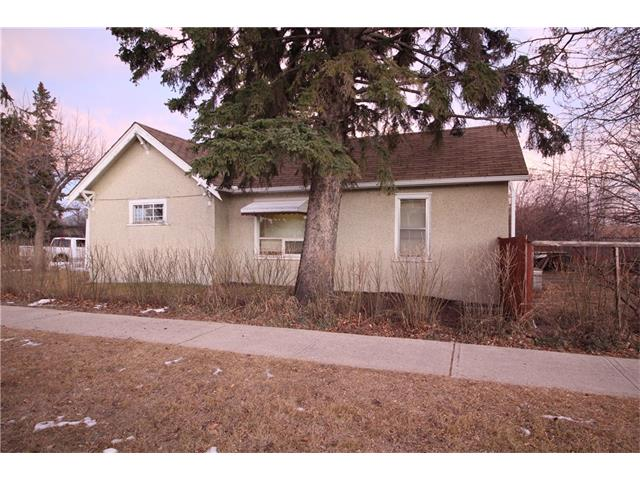 Prime corner lot 56 x 120 with a older 894 sq. ft. 2bedroom, 1 bath bungalow