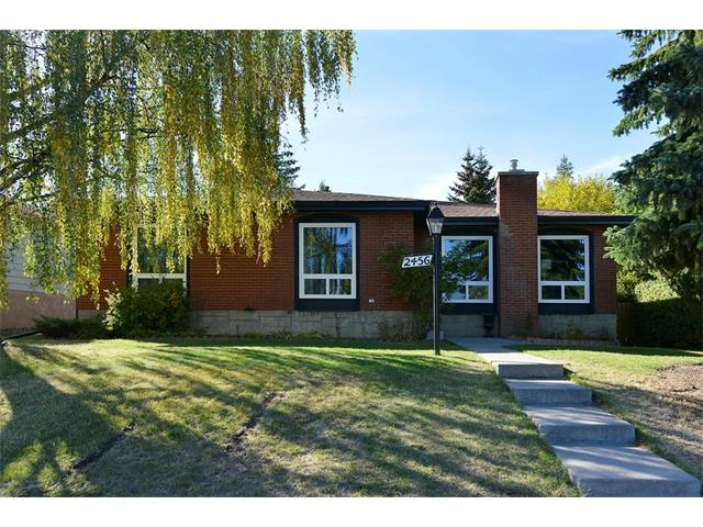 *OPEN HOUSE CANCELLED*Professionally renovated with over $100,000 in development, this beautiful 5 BEDROOM, 2 1/2 BATH bungalow, offers 2500 SQFT of living space on 2 FINISHED LEVELS.  Located on a huge lot (60'x108') in an upscale community (Palliser) and a short walk to the great outdoors (South Glenmore Park) and well-known school (Nellie McClung). MAIN FLOOR: Refinished original oak floors; spacious foyer; pot lights; new windows/doors/trim; kitchen w/quartz countertop, porcelain tile floor, high-end stainless steel appliances; large master bedroom w/ensuite; main bath w/double sink, soaker tub & shower; two more large bedrooms. BASEMENT: Massive great room w/wet bar, premium carpet, gas fireplace; 2 more spacious bedrooms w/egress windows; full bath w/shower; laundry/utility w/upgraded furnace and hot water tank; high-end washer & dryer.  EXTERIOR: Brick w/upgraded asphalt roof; new eaves/soffits; landscaped; oversized double garage. This home is a BEAUTY! VIEW THE 3D VIRTUAL TOUR!