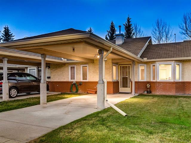 BEAUTIFUL SOUTH facing BUNGALOW w/OVER 1289 sqft of developed living space, FANTASTIC LOCATION w/QUICK ACCESS to DOWNTOWN + INGLEWOOD GOLF + CURLING CLUB! CLEAN + SPACIOUS 2 BDRM Villa in the PRIVATE + FRIENDLY Community of DOVELY COURT w/ATTACHED COVERED CARPORT w/LIGHTING, FINISHED BSMT, UPDATED KITCHEN, A/C, FRESH PAINT, NEW VINYL Windows, NEW FURNACE, LAMINATE floors + MUCH MORE!! OPEN CONCEPT main w/BRIGHT Living + Dining rm, BEAUTIFUL UPDATED KITCHEN w/matching WHITE APPL's, TILED Backsplash, FULL HEIGHT Cabinetry, tons of STORAGE + DIRECT ACCESS to the concrete PATIO w/privacy fence! 4pc bath, LAUNDRY area w/shelving + 2 GREAT sized BDRM's incl the MASTER w/LRG CLOSET+ VIEW's of the GREENSPACE complete the main! The LOWER level has a HUGE FAMILY RM area, REC rm, 3 pc bath w/STAND UP SHOWER + LARGE UTILITY room w/LOTS of STORAGE! FULLY LANDSCAPED COMPLEX w/MATURE TREES, COMMUNAL COFFEE ROOM, CLUBHOUSE for SPECIAL OCCASIONS + EXTRA PARKING stall available for JUST $20/month! BOOK YOUR SHOWING TODAY!!