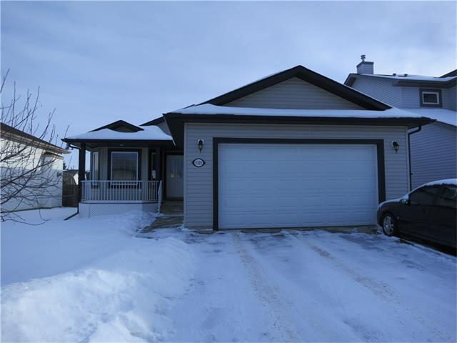 Heres a dandy bungalow! It's 1400sf and includes an attached double garage and covered back deck. The main floor features 3 bedrooms incl master with full ensuite and MAIN FLOOR LAUNDRY. The basement is mostly finished with a bedroom, bathroom, nice size storage room and semi-divided rec area. Only a little trim and some ceiling left to finish.