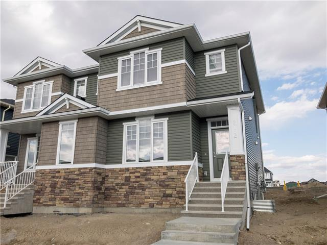 Brand new Attached 2 storey in Ravenswood of Airdrie, the Bernard 2 built by Broadview Homes. Offering numerous upgrades which include: hardwood, tile, top of the line Kitchen Aid Stainless steel appliances, blind package, knock down ceilings, granite throughout, 9' ceilings main & lower, 20' X 20' concrete pad in yard for future garage & so much more. The main floor features a 2pc bath, spacious great room, good size kitchen that offers a pantry, island with eating bar & a nook. The upper floor features a 4pc bath, laundry area & 3 good size bedrooms. The master bedroom offers a full en suite & walk in closet. The lower level is awaiting your ideas. Exterior measurement is 1472 sq ft. Close to schools, green spaces, shopping & all other amenities. Click on the 3D.