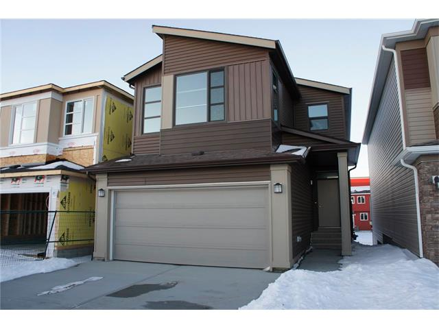 Walk up basement, brand new, and fully upgraded, welcome to this beautiful family home in Livingston.  It features a grand kitchen with lots of cabinets. It has 9 feet ceiling on the main floor, knocked down ceiling, granite counters in the kitchen and washrooms, stainless steel appliances, wood spindles railing, main floor with laminated flooring, titles in the bathrooms, finished stairs to the basement, large deck, and double attached garage. Upstairs with 3 bedrooms, large master bedroom, ensuite with separated bath tub and shower, double vanity sinks, large bonus room. Main floor with lots of upgrades, large living room, and spacious eating area. Walk up basement waiting for your future development.  It is convenient located, steps away from the future community center; only few minutes? drive to Superstore, Vivo, and easy access to major roads. ** 61 Howse Common NE **