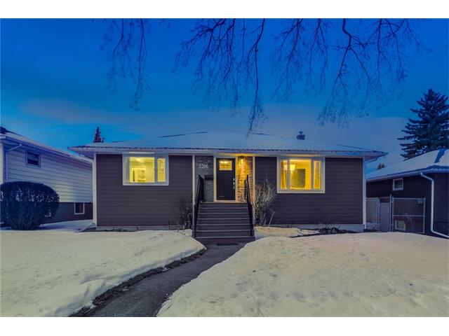 Welcome to your dream home, located in the desirable SW community of Rutland Park. An oversized, 52'x120' lot boasts a fully dev. & reno'd 2113 sqft bungalow that is turn-key ready for it's next owners. Steps away from lively Marda Loop & Mt. Royal University, you have inner city life style w/ a great community feel. The exterior appeal w/ new hardy board siding, stone detailing, fibre-glass front door, new matching dbl detached garage, new fencing, new landscaping & a stamped concrete outdoor space, will have you excited to explore inside. The bright open layout boasts wide plank oak HW floors thru out that seamlessly connect each room. The great rm, is large w/ a wood-feature wall adding warmth. The updated kitchen w/ custom cabinets incld. a pantry, SS appl. & quartz counters will convince you to host dinner parties. All 3 bdrms are serene in colour for relaxation & well sized. Not to mention, both bathrooms are perfectly renovated along w/ an open concept basement. Call today for your private viewing.