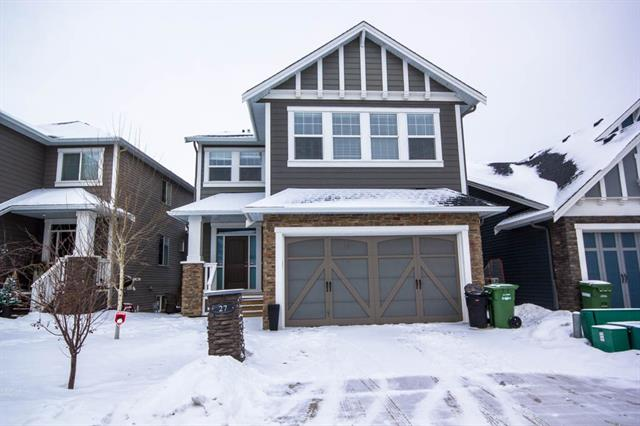 An EXQUISITE home situated on Reunion Pond in a quiet & friendly neighbourhood, you know you are in for something special the moment you step in.This Elegant home features a living room with an inviting gas fireplace & MASSIVE windows which allow an abundance of natural light to shine in. An open concept ,9 foot ceilings with extensive oak hardwood flooring, gorgeous dream kitchen with full-height cabinets, granite counters, gigantic island & stainless steel appliances. A huge mudroom with built in custom lockers to complete this level. The upper level offers a radiant BONUS room with vaulted ceiling, laundry as well as 4 bedrooms, including the master bedroom with a SPACIOUS walk-in closet & pampering spa like 5 piece ensuite with oversized shower & standalone tub & the main bath is also a 5 piece. A newly developed WALKOUT basement has been PROFESSIONALLY finished with Laminate flooring, large family room with a wet bar & a featured stone wall, a 3 piece bath with heated floor & additional bedroom.