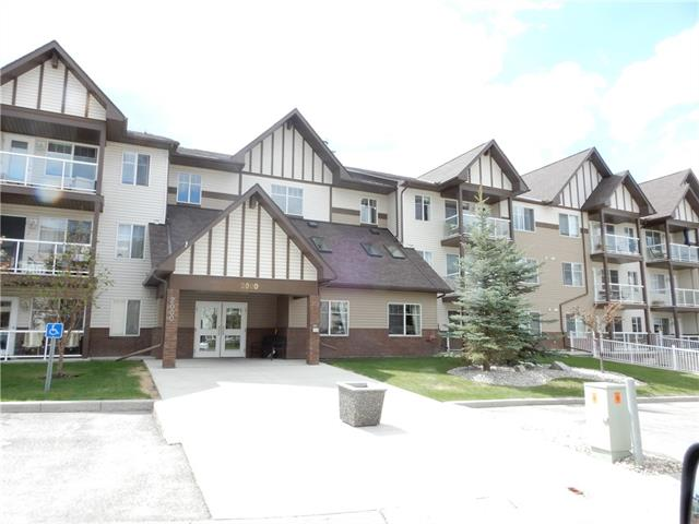 Available NOW vacant. A great condo near shopping & services in Calvanna Village.  A super event building to enjoy other residents with TV, tables to play cards, kitchen & lower level, exercise equipment.  This amenity building can be booked for family gatherings w/kitchen facility.  The condo is facing east for lovely morning sun and cooler in the summer evenings.  An in-suite laundry w/storage space, a lovely kitchen with pantry.  A spacious living room where the owner has had their desk with full living room furniture.  A couple of units from the front door,  main floor, no need to use the elevator except to go to your parking space in the heated parkade. A nice sitting room at the front door, many residents come with their morning coffee to meet others & gather late in the afternoon for a visit.  This unit is very well maintained as the owner traveled.  Deck off the living room is great to enjoy a little fresh air w/phantom screen.  Room for a L bed or two singles in the bedroom. Assigned LL parking.
