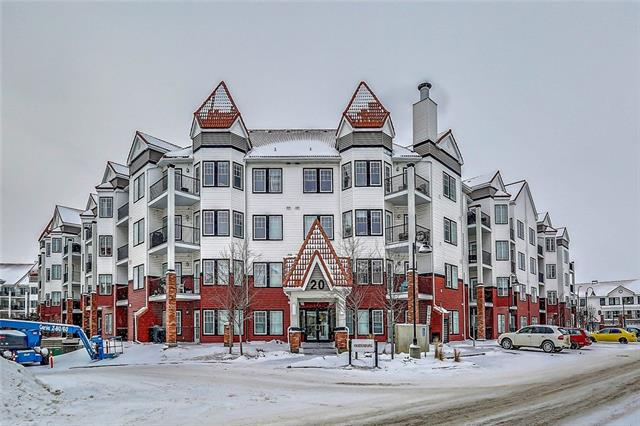 Welcome to the lovely community of Royal Oak. This beautiful condo is located a stone's throw from all the amenities this lively community has to offer: restaurants, grocery stores, coffee shops and more! As you walk into this unit, the sun-filled living area is warm and inviting. The kitchen is open concept- perfect for entertaining- and features granite countertops accented with dark wood cabinets and stainless steel appliances. This condo features two bright and airy bedrooms, and two full bathrooms. The master has a walkthrough closet and its own ensuite. This building has great amenities to offer, such as an exercise room/gym and party room. Located close to schools, parks, pubic transportation, Stoney Trail and Crowchild Trail for an easy morning commute! Contact me today for your private showing...