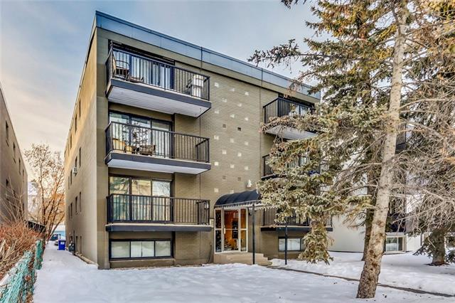 Here is a great opportunity for Investors or first time home buyers! Situated in Lower Mount Royal is this 2nd Floor Condo just steps away from 17th avenue. This unit has a good functional layout and off the living room is a good sized Balcony. Offers one bedroom, full 4 piece bathroom and is situated close to shops, pubs, restaurants and public transportation. Call today!