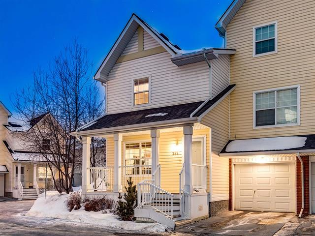 WOW! RARE opportunity to own this SUNNY END UNIT located in the MOSAICS of MCKENZIE TOWN w/OVER 1472 sq ft of developable living space including a SPACIOUS un-developed BASEMENT; awaiting your personal touch! The INVITING foyer leads into an OPEN CONCEPT Living + Dining rm w/LARGE BAY window + dining nook, a step down ½ BATH, GORGEOUS Kitchen w/CLEAN WHITE CABINETRY + Subway tile Backsplash, MATCHING S.S. Appliances, attractive MARBLE-Style Countertops, BIG PANTRY, WINDOW over the SINK w/VIEWS of yard + direct access to the PRIVATE lower PATIO! Upstairs has a BIG MASTER bedroom + 2nd bedroom BOTH w/WALK-IN Closets, plus a shared 4-piece bath w/large GRANITE counter + separate LINEN closet! FULL of FANTASTIC features including BIG relaxing front PORCH, NEW Carpet, NEUTRAL Décor, HARDWOOD floors, tons of NATURAL LIGHT due to windows on the east, west + south sides of the home, NEWER ROOF (2017) +  single ATTACHED GARAGE!!! Close to Parks, Pathways + Shopping; these UNITS are EXTREMELY RARE! VIEW TODAY!!!