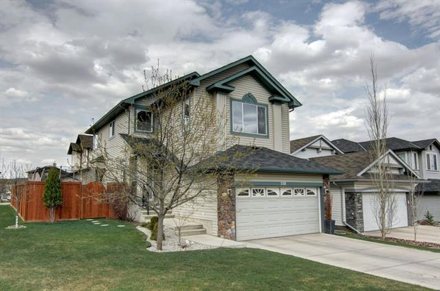 This BEAUTIFUL 3 bedroom, 3 1/2 bathroom home is located on a premium CORNER LOT & boasts 2500 SQFT on 3 finished levels. UPGRADES galore: HARDWOOD floors, Built-in SPEAKER system, CENTRAL A/C, 2 GAS FIREPLACES, high-end blinds. MAIN: Bright, welcoming foyer w/high ceiling leads to an open concept living/dining/kitchen area; living room has a cozy gas fireplace; kitchen features S/S appliances & GAS STOVE; WALKTHROUGH PANTRY leads to the garage & laundry area; spacious dining area with access to a large deck & sunny backyard; a powder room completes this floor.  UPPER: Massive,bright BONUS ROOM w/gas fireplace; master bedroom w/spa-infused 4 pce ensuite with corner JETTED TUB & glass shower, walk-in closet; two more large bedrooms, and a full bathroom. BASEMENT: FULLY FINISHED rec room, office, 3 pce bath w/heated floor.  EXTERIOR: Fenced, private and sunny backyard, gate for RV PARKING, large deck with gas hook up.  Classic, impeccable luxury!  VISIT THE VIRTUAL TOUR!