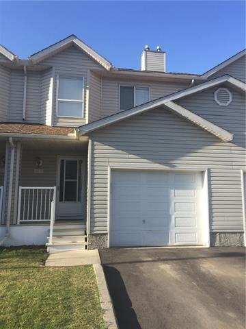 **CHECK OUT THE SUPER COOL MULTI-MEDIA 3D TOUR**You will love the open concept 3 bedroom layout with finished basement, this is a rare find in this complex. Enjoy a bright and super clean kitchen with big island & plenty of cabinets. Large windows allow excellent natural light throughout. Enjoy the comfortable living room with fireplace for family fun time. The good size dining room and two piece bathroom complete the main level. Upstairs you will find 3 generous sized bedrooms, a den/flex area and a full sized 4 piece bathroom. The basement features a kitchenette, 3 piece bathroom & additional living space. Your parking needs are well served with a single attached garage and a driveway for extra parking. If you want to live in a nice clean family oriented area, you will find you are walking distance to schools, parks, the Bow River pathways & a bus stop right across the street with easy access to all shopping, Deerfoot and Stony Trails.