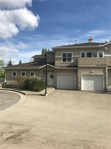 This home is gorgeous. It is located in a beautiful established community close to the Community Centre & an easy stroll to Fish Creek Park. There are tons of amenities just down the hill & it has easy access to Deerfoot. As you enter this complex you will appreciate how pretty & well maintained the property is. There is a single attached garage that will house your vehicle plus leave you some room for storage. As you enter, you fall in love with the warm inviting colours & finishings. The kitchen has plenty of cupboard & counter space & opens up to the living & dining areas. There is a fireplace & patio doors leading out to your balcony. The bedrooms are located on opposite sides of the unit making it private should you have guests or a roommate. The master is spacious & has a huge walk-in closet with racking to the ceiling. There is also a spacious 3 piece ensuite plus there is a second full bathroom. Each closet takes advantage of maximum use of space. In-floor heat makes this home efficient & cozy.