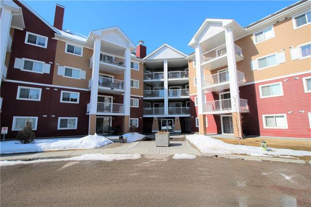 "This spacious 2 bed, 2 bath condo is located on the third floor of ""The Pointe at Prestwick"" and offers great Mountain views from it's West facing balcony. The highly sought after ""Vista"" floorplan consists of a spacious kitchen with a large sit-up bar that overlooks the separate dining area and huge living room. This unit offers excellent room separation, with the master bedroom, walk-thru closet and 4pc ensuite on one side and the second bedroom, 4pc bath and in-suite laundry/storage room on the opposite side. Additional bonuses include one ""titled"" underground parking stall and a 2 min walk to the restaurants and major shopping outlets on 130ave. Located close to schools, parks, city transit and easy access to main roadways."