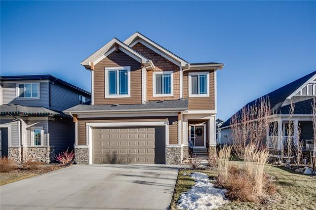 **OPEN HOUSE SAT APR 14 2PM-4PM**Welcome to the Soul 2 model from Calbridge in the beautiful community of Sunset Ridge, located just steps to Ranche View School, playground & paths. This FORMER SHOWHOME is IMMACULATE & comes loaded with all the upgrades! Some of the features inc CENTRAL A/C, SURROUND SOUND THROUGHOUT, UNDERGROUND IRRIGATION in front & back, UPGRADED LIGHTING, CENTRAL VAC, CLOSED CIRCUIT TV CAMERAS, FULLY FINISHED GARAGE, 9 FT CEILINGS ON MAIN & UPPER along with EXTRA WINDOWS & GRANITE THROUGHOUT. Stunning gourmet kitchen wth granite counters, massive centre island & stunning hardwood floors. Feature fireplace with custom mantle, generous dining nook with sliding doors to large backyard, spacious walk in pantry & mudroom complete the main level. Upper floor offers a large centralized bonus room with custom built ins, built in office area, spacious laundry room with sink, 4 pc bath & 3 bedrooms inc the expansive master suite with foyer, walk in closet & 5 pc ensuite with granite counters.