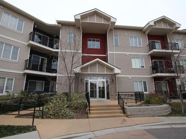 """This popular complex of """"Treo at Beacon Heights"""" is well managed & has a fabulous location! Walk to major transit stops & all the amenities at Beacon Heights including Goodlife Fitness, Costco, Home Depot, restaurants & more! Sherwood offers pathways right out your door to enjoy a stroll or bike ride with nature. Inside you'll discover an open floor plan flooded in natural light. Bright open concept unit located on the top floor. The kitchen features dark maple cabinets, granite countertops, & black appliances. The living room has patio door access to a sunny patio large enough for a full size BBQ and seating area!  In-suite laundry & storage room. Even the car will get pampered in the secure heated parkade! Easy access to Stoney, Sarcee & Shaganappi Trail. Terrific Value!"""