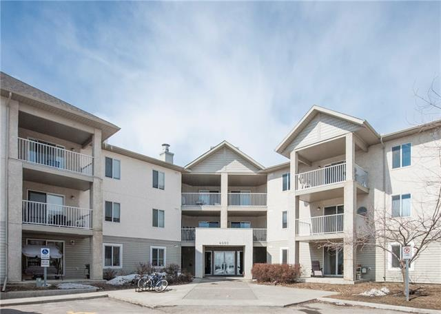 Rare Find! A two-bedroom top floor condo in the NW community of Citadel with two titled underground parking stalls. This unit boasts an open floor plan with a living room, dining area, a sit up breakfast bar in the kitchen, new laminate flooring throughout, bedrooms on opposite sides of the condo, two full bathrooms, a west facing balcony and in-suite storage and laundry. Located close to schools, shopping, transit and only minutes away from jumping on the Calgary Ring Road. Ideal for anyone starting out or consider adding this to your rental portfolio. Call your favorite realtor today to book your own private viewing.