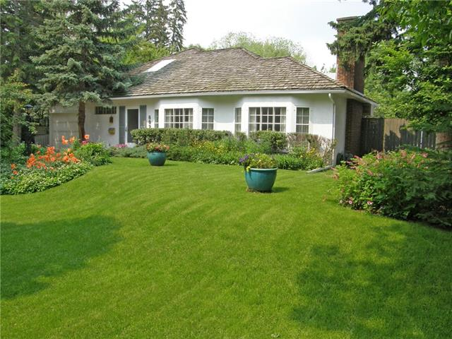Attention Builders and Developers! Don?t let this amazing opportunity to build a premier residence on this 75x125 ft lot on Sifton Blvd in Elbow Park! Situated on a beautiful tree-lined street, the current 2386 sq. ft, 2 bedroom family home is completed with formal rooms throughout, hardwood floors, original wood burning fireplace in the living room, main floor den/office which could easily be used as a third bedroom. Spacious kitchen with access to the rear yard with large deck and hot tub. The private yard boasts mature trees and is landscaped with numerous perennials. Also enjoy two garages ? single attached and double detached with access from the back lane. Conveniently located close to excellent school, shopping, city transportation, Elbow River pathways and parks and just a short commute to the core.