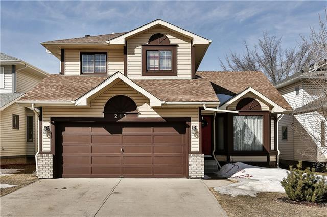 This beautiful family home is centrally located in Sandstone Valley where you get easy access to Deerfoot Trail and other major roadways (the Airport is 10km away and downtown is about 15km). As you walk in you will be greeted by a large living space and formal dining and next to it is the kitchen and a breakfast nook. The main floor as second living place with a wood fireplace along with a half bath and laundry area. Upstairs you will find 3 bedrooms and 2 full bathrooms which includes the master ensuite. The basement is semi-finished and can be easily developed into more living space for larger families. Speaking of families, there are many schools close by and plenty of parks, trails and green space. The back yard is big and has access to the back alley (can accommodate RV parking). To view this great home please contact your favourite agent.