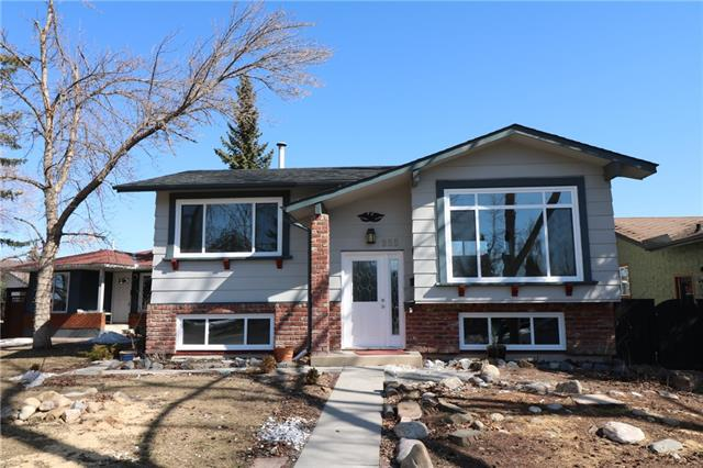 Welcome to 955 Midridge Drive S.E. Extensively renovated 3 bedrooms + den/office, 2 full baths home located on a pie shaped lot just minutes to the lake, Fish Creek, schools, shopping, bus stops & a short drive to Shawnessy train station. Recent (2018) renovations/improvements include new roof shingles, all new exterior windows & doors, new kitchen, new flooring, new electrical fixtures & brand new 2 car garage . This home is vacant & ready for immediate possession so, call to view today & don't miss out of this fantastic opportunity!
