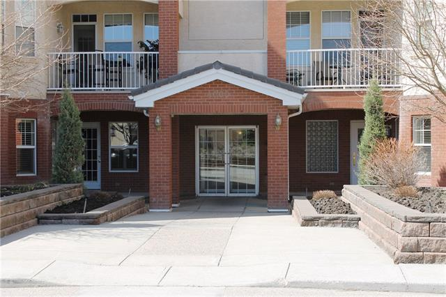 Carefree living at its best!  TOP FLOOR unit in the sought after Beacon Hill complex.  Wonderful space with 2 bedrooms, 2 baths and a den.  Open and bright with 9 ft ceilings and large windows.  The large balcony offers great outdoor living space and a gas line for a BBQ.  Other features include two titled underground parking stalls and air conditioning.  Walking distance to Fish Creek Park and the LRT station.   Convenient location, only minutes to all the shops and services at the Shawnessy shopping area.  Secure building with fantastic amenities which include an exercise room, social/games room with full kitchen, car wash bay, wine making room, wood working shop and guest suites.