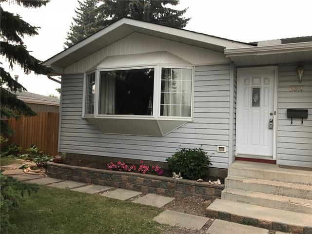 New price, best buy in the area and great opportunity!  Live in North Glenmore Park on the south side of Glenmore Trail in this bright and spacious 1,200 sq ft bungalow. Nice large bedrooms one with a walk in closet and the master bedroom with a 2 piece ensuite. This home has new vinyl plank flooring, fresh paint, some newer windows and newer shingles. Main Level boasts a large living room and dining room with French Doors leading out to the Sunroom. Excellent kitchen design with plenty of cupboards and counter space. The fully developed basement has a retro rec room, a full bathroom and a den that could easily be a converted to a 3rd bedroom. This home has a swimming pool for those sunny summer days to cool off in or simply enjoy deck side relaxation.  Great location! Close to Schools, Playground. Transit and Shopping.