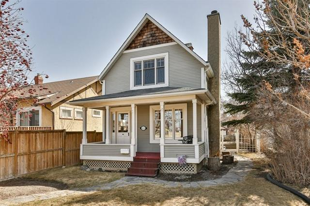 PRICE REDUCED ! BEAUTIFUL CHARACTER HOME IN EXCLUSIVE INNER CITY ROSEDALE ! This 1910 character home has been lovingly restored to it's original condition. This home features hardwood and tile throughout. It has a large veranda, 9 ft ceilings on the main floor, fireplace, a large kitchen and eating area, a deck off the kitchen to enjoy summer barbecues, a wall stereo system, decorative chandeliers,2 1/2 bathrooms, a large single garage and 3 bedrooms upstairs. All this in a funky inner city area.