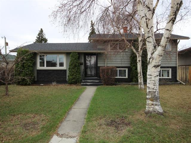4 bedrooms + 2 Bathrooms Large backyard Renovation of kitchen with all custom cabinetry by Ultimate Renovations/ Built in Dishwasher and Spice Racks/ Gas Stove/ Huge granite island. Renovated bathroom. New roof Located on a quiet street with one of the only paved back alleys in the neighborhood. Fairview community has excellent access to major roadways (Deerfoot, Blackfoot, MacLeod, Glenmore, Fairmount) and is 5 mins from both Heritage and Chinook LRT Stations. Fairview is also 2 mins. from Calgary Farmers Market and Deerfoot Meadows Shopping Area. TLC Elementary and Junior high school (Le Roi Daniels K-3 and Fairview 4-9) are located at the end of the street. Fairview residents have first priority for entry! Walking distance to St. Matthews K-9.
