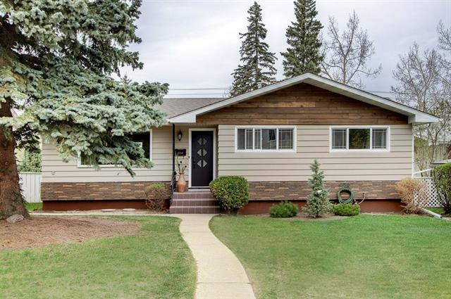 Improve your lifestyle only minutes away from DT Calgary. Enjoy the benefits Charleswood has to offer. Centrally located close to the U of C, numerous schools, shopping, LRT, parks, biking paths, golf, Foothills Hospital, Children?s Hospital with quick access to major routes. Charleswood is a family community surrounded by parks for all ages. This newly renovated bungalow backs onto a park, paved back lane & is entirely updated with permits. The redesigned interior plan includes a bright open concept kitchen & great rm with a view of the park. The master includes a full en-suite with his/her sinks, barrier free glass panel shower & w/i closet. Included on the main floor plan is a 2nd bdrm & 4-piece main bath. New interior drs, trim, 6? bsbd's & 3 �? casings. The ceiling insulation has been replaced with R50 fiberglass &  has been upgraded to modern paint grade finish with an abundance of pot lights. Shaker style kitchen cabinetry has silent drawers & multiple p/o shelves including garbage recycle bins.