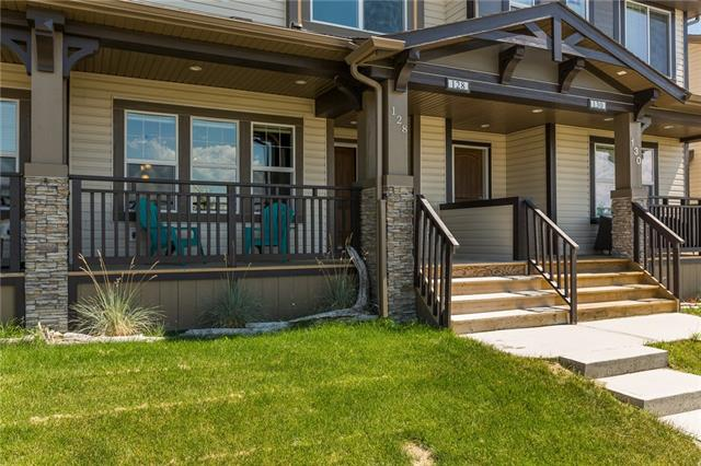 Wow, if you are looking for great value this one has a lower price per sq ft than any comparable property that has sold in the last 6 months in this community. This pretty home is located across from a park & green space. It has a front porch, perfect placed to appreciate the stunning Rocky Mountain view. As you enter you will fall in love with the finishings & layout. This is a spacious open plan with hardwood that flows through the majority of the main level. The living room has large windows to take advantage of the views. The dining room will handle a large table. The kitchen is gorgeous & features espresso stained cabinets, quartz counters & upgraded stainless appliances. The mudroom will keep you organized & exits to your garage, which is large enough to park your truck & has overhead storage. There is room for a 2nd vehicle on the long driveway. Upstairs has a central bonus room, spacious bedrooms & a master with a walk-in closet & ensuite. The laundry room is conveniently located on this level.