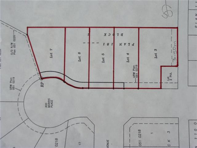 """Best location in town, and only just a block to the grocery store, and a few short blocks to down town. These 5 serviced lots, starting at $99,000, are the last lots in """"Morris Meadows"""". Note: The Listing Realtor is a Share Holder in the numbered company who owns the land."""