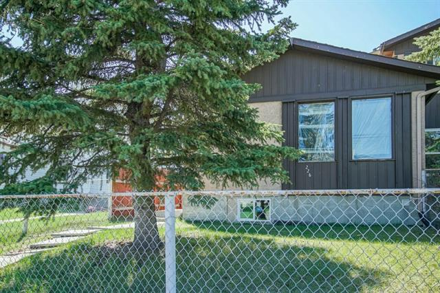 Great home for the  First time home buyer or an Investor in Whitehorn Community in NE Calgary. Bungalow Style Duplex with a Separate Side Entrance with an illegal basement suite. Over 1600 Sq.Ft. of living space. Handyman Special. Excellent layout on main floor with 3 bedrooms, living room , kitchen, dining area and a 4pc bath. Separate shared laundry area. Basement has a large spacious living room with a bedroom, den, kitchen,  4pc bath and pantry. Close to Schools, Playground, LRT, Shopping Areas, Bus Routes, Airport and Hospital.  Walking distance to the Whitehorn LRT and Playground.