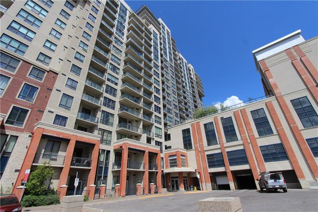 Great price! The LONDON is calling. Will you answer? This CENTRAL AIR CONDITIONED luxurious one bedroom plus den Bristol suite is loaded with extra features. Answer this call and you will be rewarded with granite, rich wood cabinetry, 10 FOOT ceilings, in suite laundry, rich red feature walls, a soaker tub, large windows facing downtown, and an OVERSIZED balcony. Located in a concrete building, PET FRIENDLY, rooftop patio on the 17th floor, secure & heated indoor parking, bike storage, 3 elevators and Lobby concierge. Unbeatable location - adjacent to Save-on-Foods and a one-stop C-train ride to Chinook Centre for all amenities! Immediate possession available, move in today!