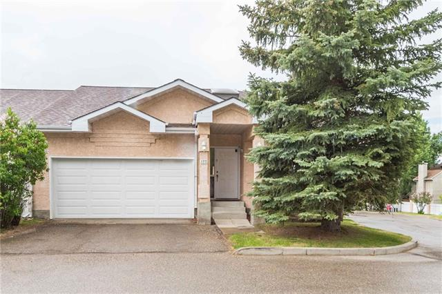 PRICE REDUCED on this fantastic Estate Villa in Gladstone Gardens! This corner unit has a very spacious and open floor plan, vaulted ceilings, lots of storage space, and main floor laundry makes this unit a desirable place to call home.  Close to West Hills and Signal Hill Centres for shopping, and an easy commute to the downtown core.  Large master suite with 4 piece ensuite that has a jetted tub to relax in after a hard day on the golf course.  Great kitchen with ample counter space, and a gas stove for cooking those gourmet dinners!  Comfortable and bright living and dining area.  The skylight lets in a lot of natural light too and a west facing deck to sip wine on in the evenings.  Fully developed basement has a games area, dry bar with included bar fridge, 2 bedrooms and 3 piece bathroom for out of town guests or extended family coming to visit.  Well sized double attached garage also compliments this fantastic Villa.  A great home in this quiet yet central complex.  Come and see for yourself!