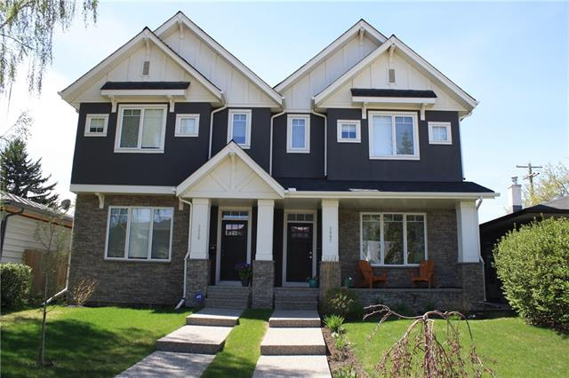 OPEN HOUSE: June 16th 2:30pm-4:30pm. Here's your chance to own this wonderfully upgraded 2 storey that stands out among the rest! Main floor highlights include a grand curved staircase, a linear modern fireplace in the living room, quartz counter tops, high end Décor kitchen appliances, extended kitchen island with raised eating bar featuring a granite waterfall, hardwood floors throughout, 9' ceilings, large dining area and a private mud room with lockers. Follow the curved staircase upstairs to the common 5 piece bathroom, spacious laundry room and three large bedrooms. The master features a walk-in closet with custom built-ins and a private 5 piece en-suite with a deep soaker tub, his and her sinks and a separate glass enclosed shower. The lower level is warm and inviting with in-floor heating and offers a rec room perfect for entertaining, a 3rd full bathroom and a 4th bedroom. Enjoy the sunny, west facing backyard on the deck in the fully fenced and landscaped backyard with raised garden bed.