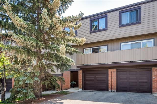 Completely upgraded unit backing on the green area leading to Glenmore Reservoir and Weaselhead Flats Park. Very private, back of unit facing south with secluded patio and sunshine all day. Very bright inside and out.  All amenities are walking distance including transportation, schools & shopping. Three spacious bedrooms (huge Master Bed.), 4-pcs bath and spacious Landing on 2nd floor.  Main floor has Liv-rm, Din-rm, Kitchen & Nook with sliding door to South secluded landscaped Patio with gate to Green pathway that leads to Reservoir and Weasehead Flats Park. Triple sliding door to Balcony from Liv-rm.  Lower area is Walk-up foyer, 2-pc bath, Laundry, Pantry and Utility-rm plus Single attached garage.  Garage is insulated & directly opens into foyer. Furnace has Electro Static Air Cleaner, UV Air Treatment (destroys mold particles plus other). Double Vacuflo hoses & attachments. Very clean and ready to move in unit. Many extras.  Seller is Realtor.