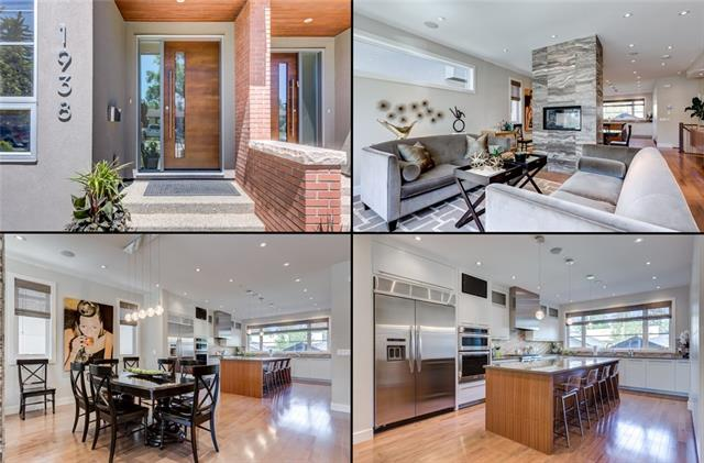 ** Open house Sunday Aug 19 2-4pm ** Gorgeous inner city home on an oversized lot in desirable Altadore. This SoHo home has been upgraded extensively including maple hardwood throughout the main floor, a stunning custom gourmet kitchen with gas cooktop, built in wall oven, quartz counters, and a stone tile two way fireplace between the dining area and living room. Upstairs you'll find an office/den nook, laundry, a four piece washroom and three bedrooms. The master suite is something to see, with a five piece custom ensuite and a huge walk in closet. The basement is fully developed with a guest room, four piece washroom, and an outstanding media room (with full wet bar) for game night and movies. The basement also has in-floor heating to keep cozy on those chilly winter nights. The backyard is perfect for BBQ season with a lovely aggregate concrete patio. Park in the detached double garage and walk to Sandy Beach park, area schools, and all the restaurants, pubs, and shopping that Marda Loop has to offer.
